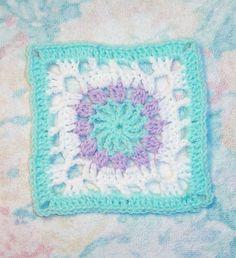 Little Flower Square  Ravelry: Little Flower Square 6x6 pattern by Donna Mason-Svara