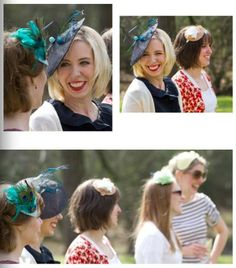 These hats work for even the most simple of occasions!  That's what makes them so fun.