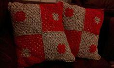 Muy fácil cojin a crochet