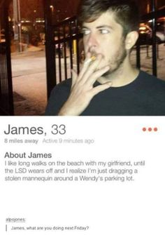 Where can i get me a james