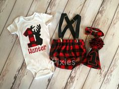 Hey, I found this really awesome Etsy listing at https://www.etsy.com/listing/384857296/lumberjack-birthday-set-red-and-black