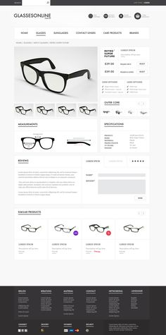E-Commerce Web Design Inspiration #ecommerce
