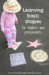 Learning basic shapes for toddlers and preschoolers