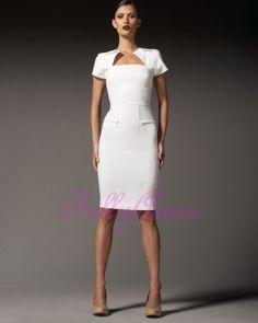 White Formal Dress - Lauren Backless Dress - Ivory | UsTrendy