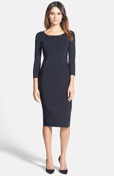 Pink Tartan 'Gwyneth' Body-Con Dress available at #Nordstrom