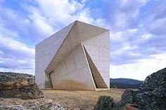 Privat Chapel, Valleaceron, Spain Estudio Sancho-Madridejos 2001