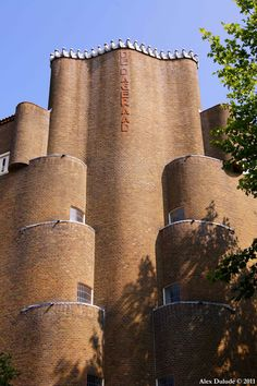 De Dageraad. Amsterdamse school architectuur