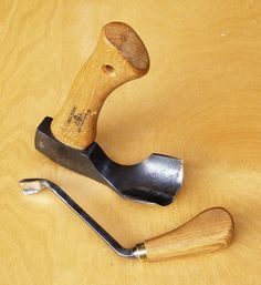 Swedish tools for carving bowls