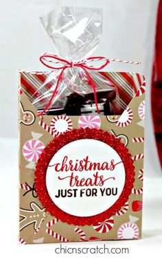 Stampin' Up! Candy cane lane designer paper, Christmas box + video