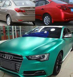 Audi A5 Chrome Red Matt Folioplus Exclusive Car