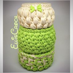 A personal favourite from my Etsy shop https://www.etsy.com/listing/520820677/set-of-3-baskets-green-beige-easter