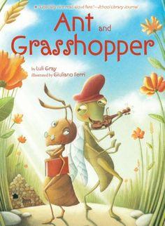 Ant and Grasshopper by Luli Gray http://www.amazon.com/dp/1416951407/ref=cm_sw_r_pi_dp_9-u0tb1TPGWSXN05