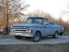 '62 Ford F100 UNIBODY - Yesterday's Trucks