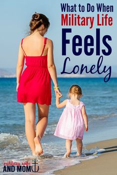 Do you ever feel like a lonely military wife? This post is SO HELPFUL! via @lauren9098
