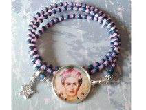 * FRIDA FIRST* KAHLO  ROMANTIK WICKELARMBAND