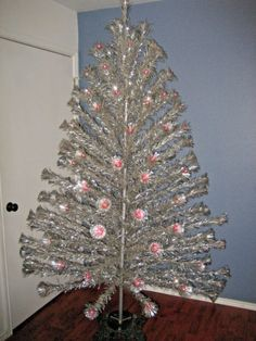 Holy shit! Right now on eBay. 8' pink aluminum Christmas tree ...