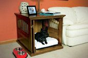 We don't crate our dog much anymore, but I may build this anyway!