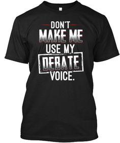 7c7fbe577 Debate Team Hanes Tagless Tee T-Shirt #fashion #clothing #shoes #accessories