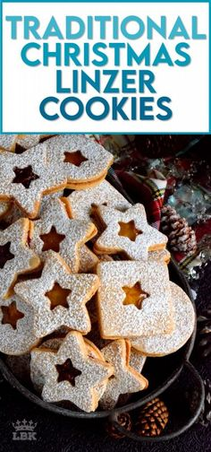 Christmas is all about tradition, both the new traditions and the old. This Traditional Christmas Linzer Cookies recipe, an old world cookie confection, originating in Austria, is a vital part of holiday traditions for many families. #linzer #traditional #christmas #holiday #baking #cookies