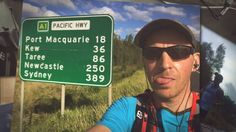 Joe Ward sets a new record running 960kms from Brisbane to Sydney in 12 days ! Previous record was 15 days held by kiwi runner Andrew Hedgman.