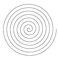 Bildergebnis für spiral template to cut out