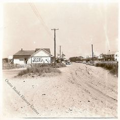 Hatteras Village by Outer Banks History Center, via Flickr