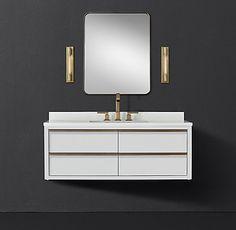 Innovative designs for Bathroom Vanities Rustic Bathroom Vanities, Single Bathroom Vanity, Vanity Sink, Single Vanities, Bathroom Ideas, Storage Mirror, Bath Storage, Furniture Vanity, Bathroom Furniture