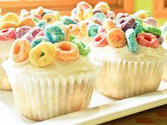 ~Fruit Loop CUPCAKES~