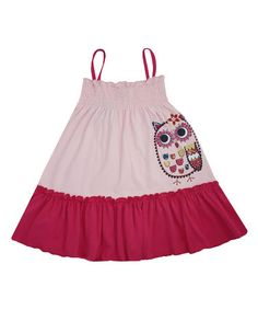 Another great find on #zulily! Pink Owl Amelia Organic Dress - Infant, Toddler & Girls #zulilyfinds