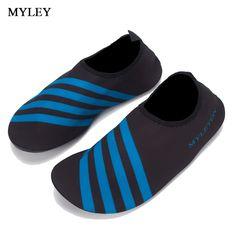 afaab75dd7d MYLEY 1 Pair Sport Flat Shoes Non-slip Swim Seaside Beach
