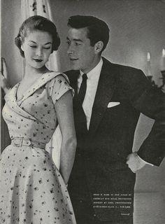 Ciao Bellísima - Vintage'licious; Jean Patchett, 1953