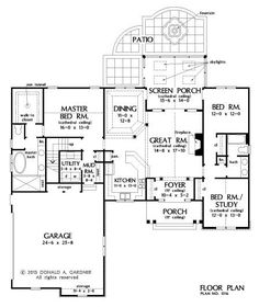 Floor Plan Friday - The Primrose house plan 1316! #WeDesignDreams