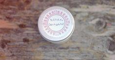 natural deodorant recipe // earworm and plum pudding