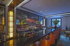 Spivak Architects - the bar at The Mark Restaurant by Jean-Georges