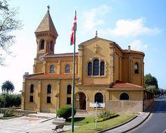 Iglesia de San Ignacio, Algorta (Foto: Zarateman)