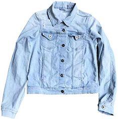 ac80ff31fe9d1 eKooBee Girls Denim Jean Jacket Outerwears  girl  coat  jacket  fashion   moda