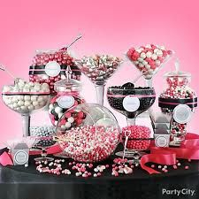candy buffet table - Google Search