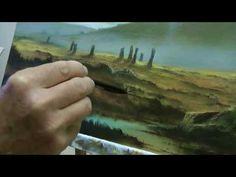 Painting The Hurlers by Alan Kingwell - YouTube