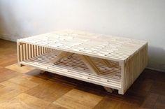 Sebastián Erazo es el arquitecto chileno detrás de esta mesa de centro llamada Coffee Table A