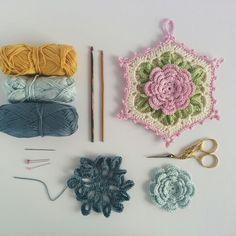 Potholder worjshop by CrochetObjet