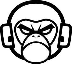 15ae843d6c 26 Best ape headphones images | Monkeys, Drawings, Illustrations