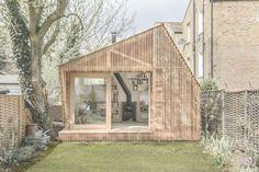 Cabaña para un Escritor / WSD Architecture (Hackney, Londres E9, Reino Unido) #architecture