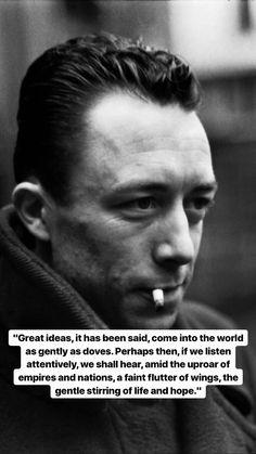 Albert Camus, Life Quotes Love, Wisdom Quotes, Best Quotes, Gabriel Garcia Marquez, Dale Carnegie, Camus Quotes, Grieving Quotes, Aesthetic Words