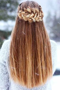 Sometimes braid hairstyles are considered to be too simple for holidays. However, what is wrong with being simple? It does not mean that such hairstyles look less beautiful. To the contrary, they might look quite chic. Besides, by spending less time on styling your hair, you will have more time to focus on your makeup and outfit. Any type of a braid can look fabulous even if you choose it to be a bit messy, believe us.