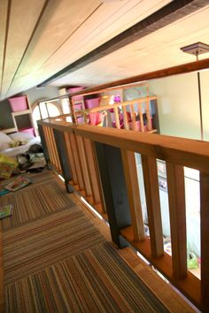 Tiny house sleeping loft catwalk allmarblehead Small Houses