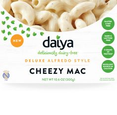 Daiya Cheezy Mac - Deluxe Alfredo Style Vegan Mac and Cheese