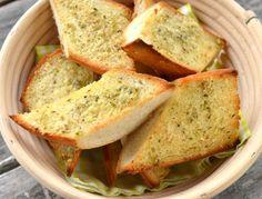 Vitlöksbröd med parmesan och oregano