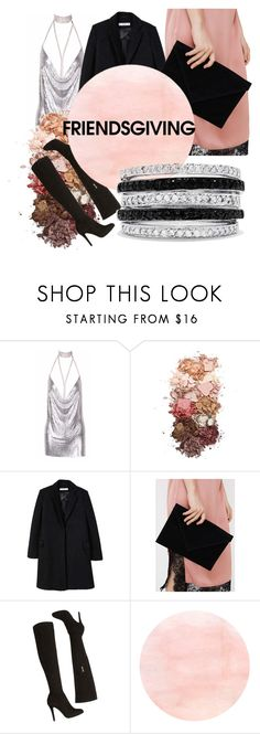 """""""Night out"""" by giulia-barsotti ❤ liked on Polyvore featuring Sigma, MANGO, Karen Millen and Effy Jewelry"""