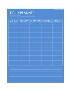 Daily Planner Template Printable Fresh 47 Printable Daily Planner Templates Free In Word Excel Pdf Daily Schedule Template, Daily Planner Printable, Checklist Template, Planner Template, Calendar Printable, Templates Printable Free, Print Templates, Printables, Effective Study Tips
