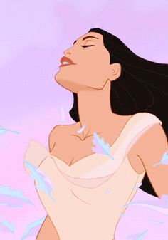 """She has her mother's spirit, she goes wherever the wind takes her"" ~Kekata. Pocahontas is my favorite."
